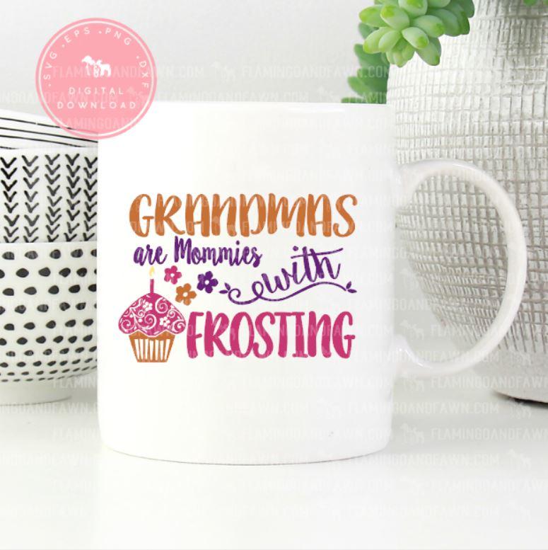 grandma mothers day svg