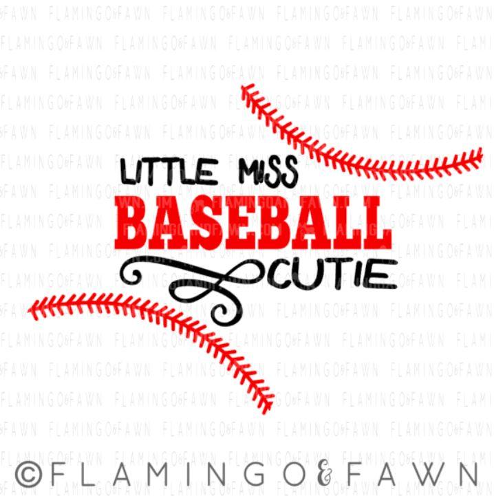 baby baseball svg