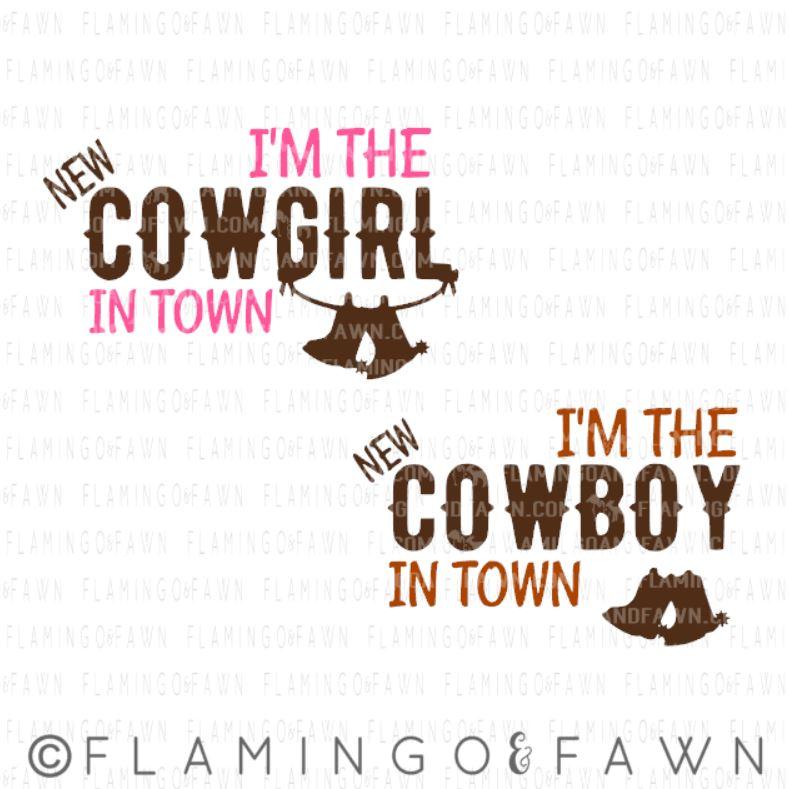 baby cowboy svg