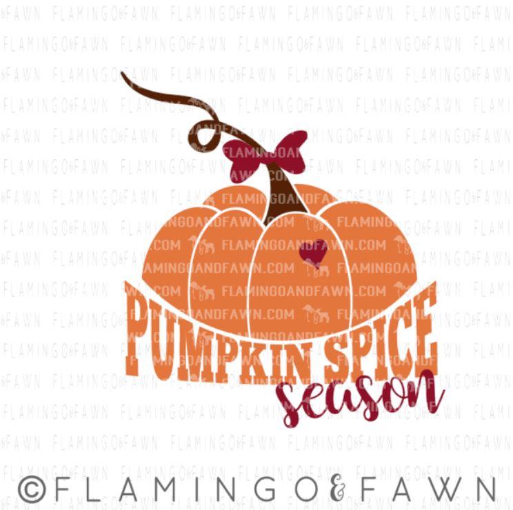 pumpkin spice season svg