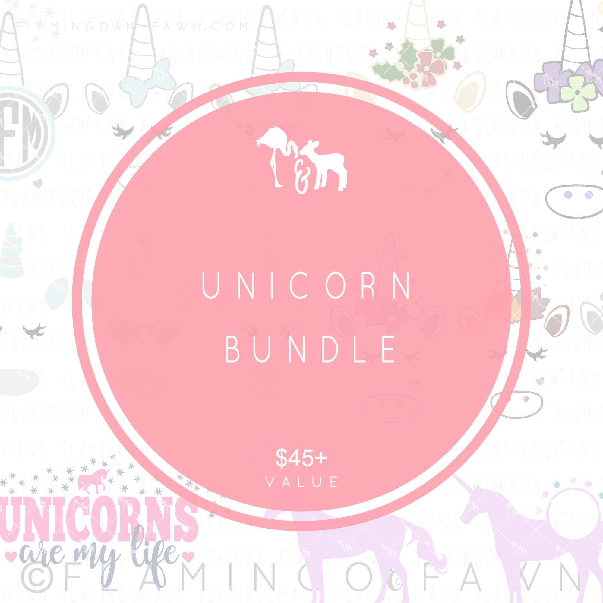 unicorn bundle svg