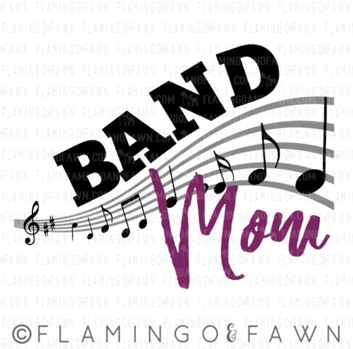 band mom svg files