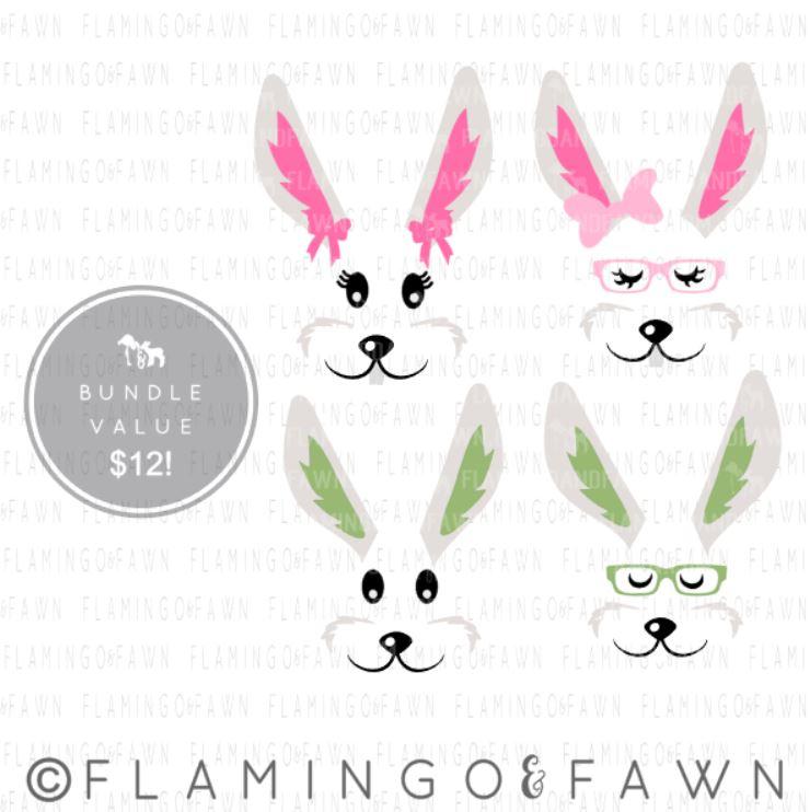 bunny head svg