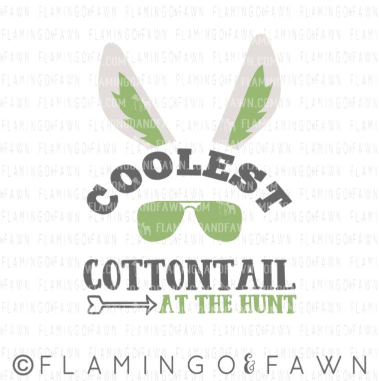 coolest cottontail svg
