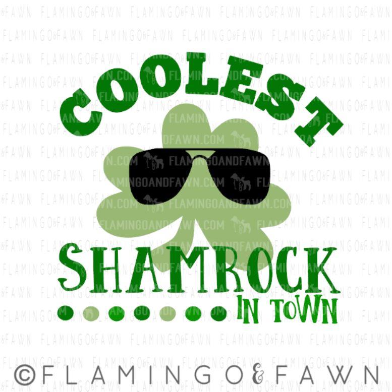 coolest shamrock svg