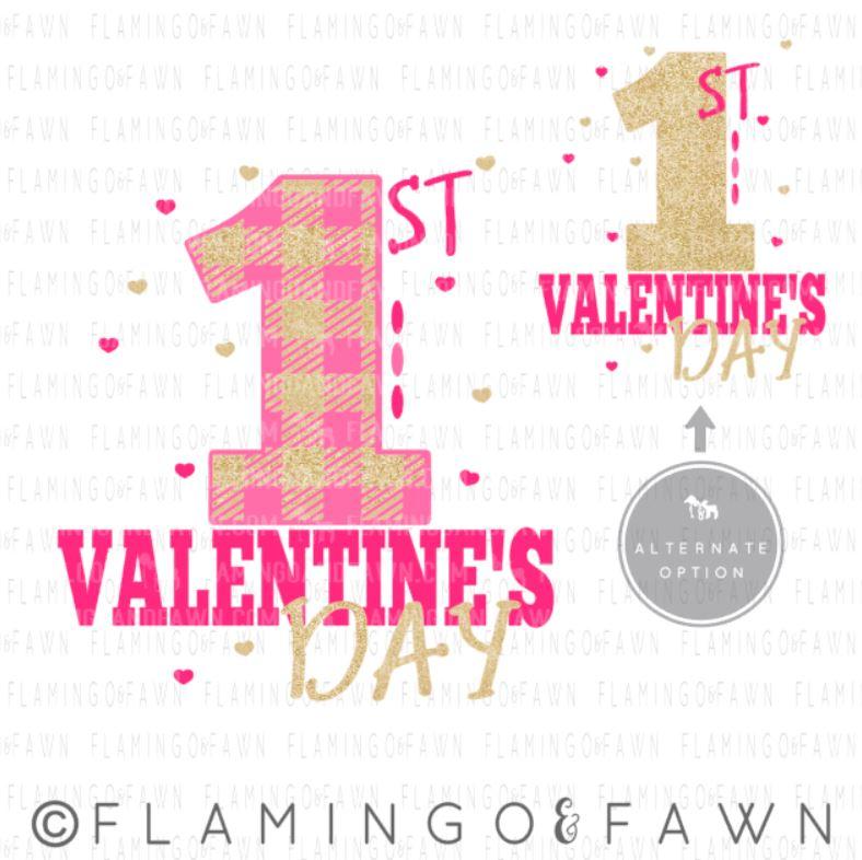 first valentines day svg