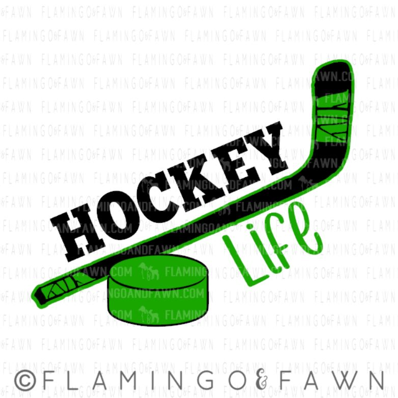 Hockey life svg files