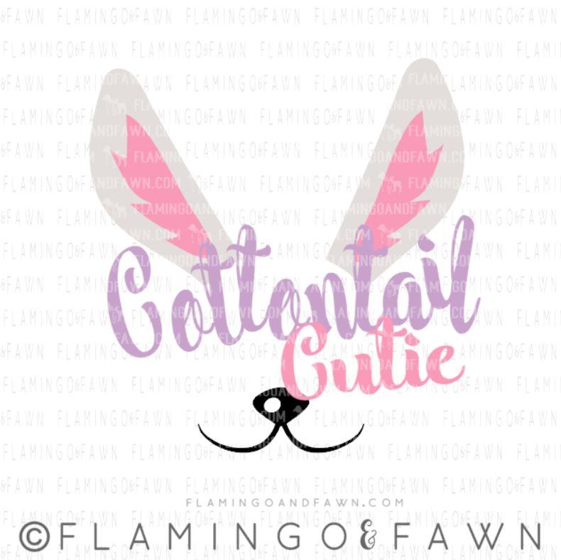 cottontail cutie svg
