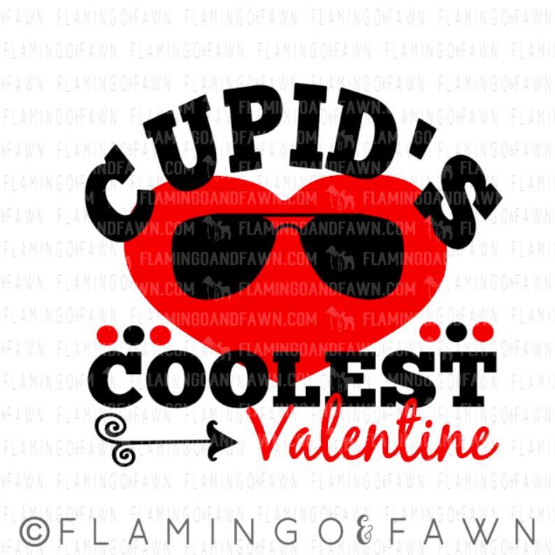 Coolest valentine svg