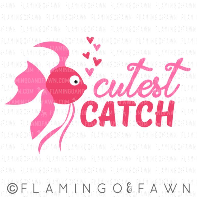 fish valentine svg