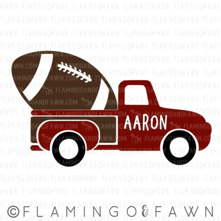 football truck svg