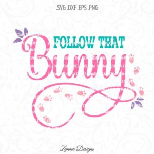 follow that bunny svg