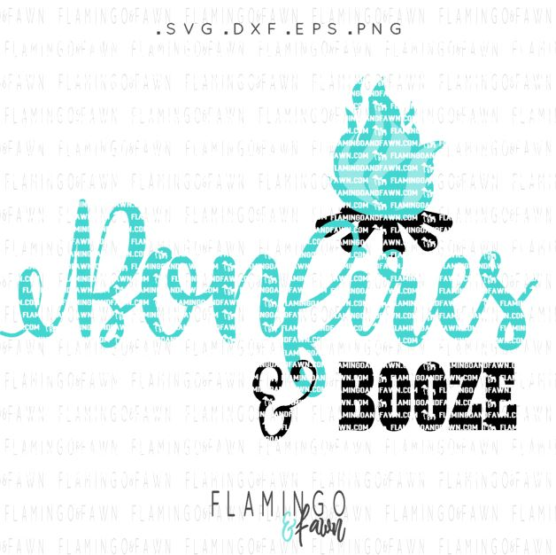 bonfires and booze svg