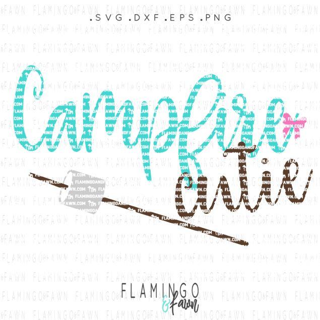 campfire cutie svg