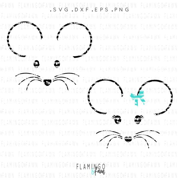 mouse face svg