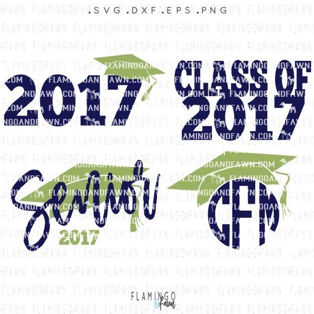 graduation 2017 svg