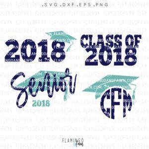graduation 2018 svg
