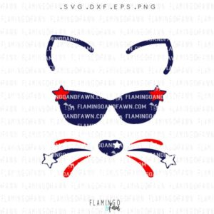 4th of july girl svg