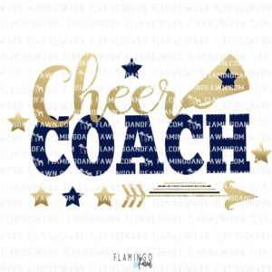 Cheer coach svg files