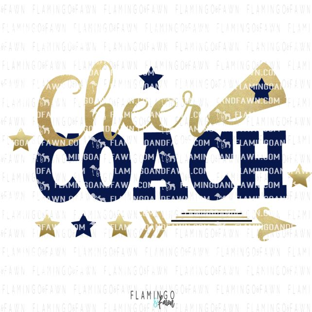 Cheer coach svg files