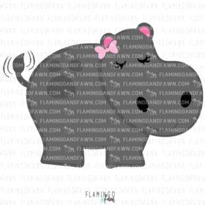 hippo svg files