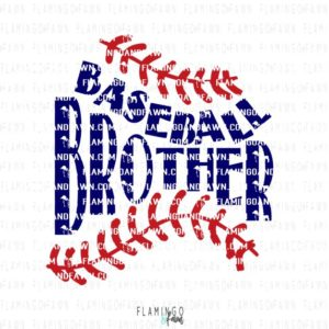 Baseball brother svg