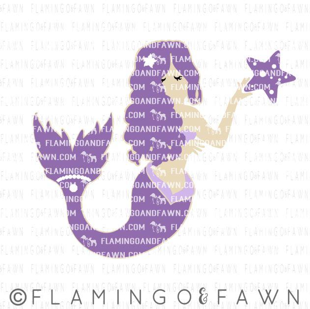 Mermaid svg files