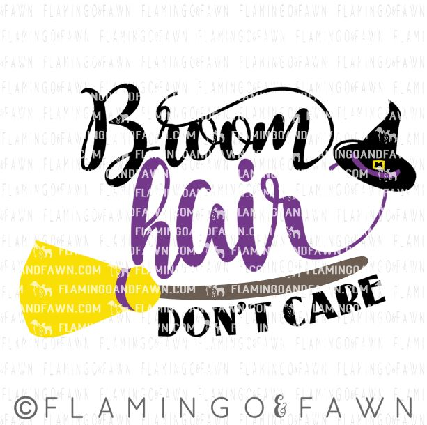 0597 broom hair dont care