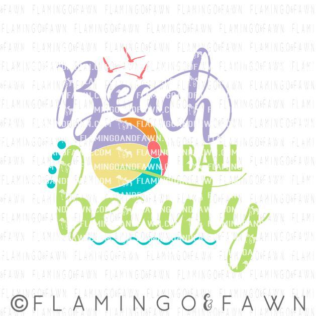 beach ball beauty