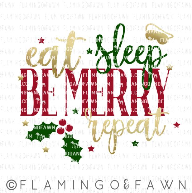 be merry svg