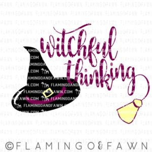 witchful thinking svg