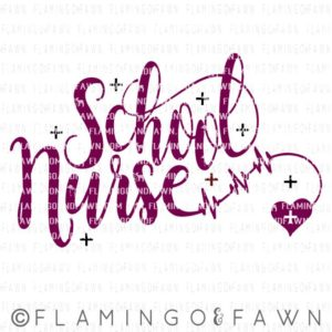 school nurse svg