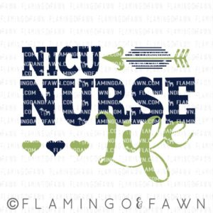 nicu nurse svg