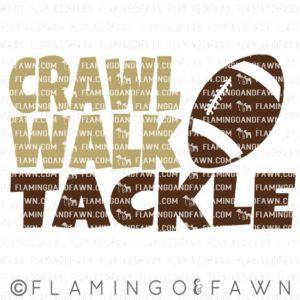 crawl walk tackle svg