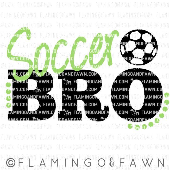 soccer brother svg