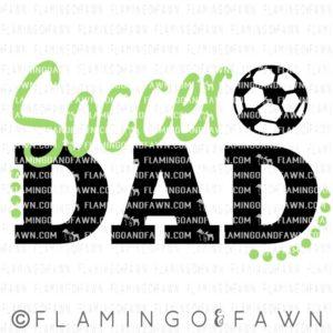 soccer dad svg