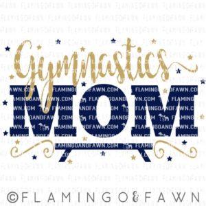 gymnastics mom svg