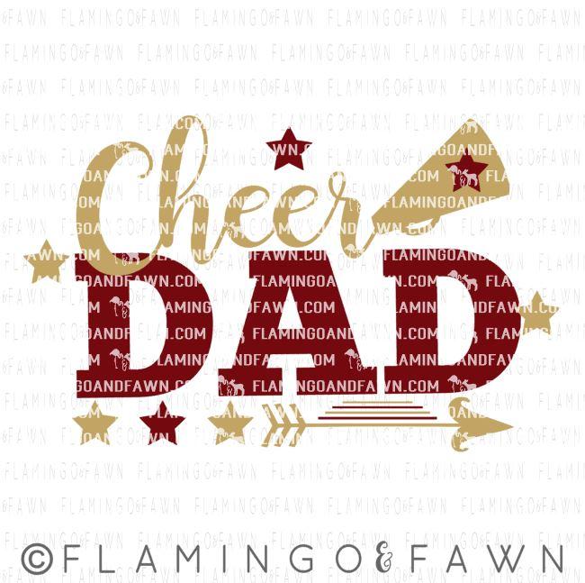 cheer dad svg files