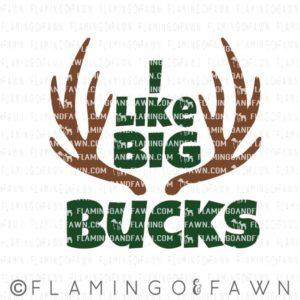 I like big bucks svg