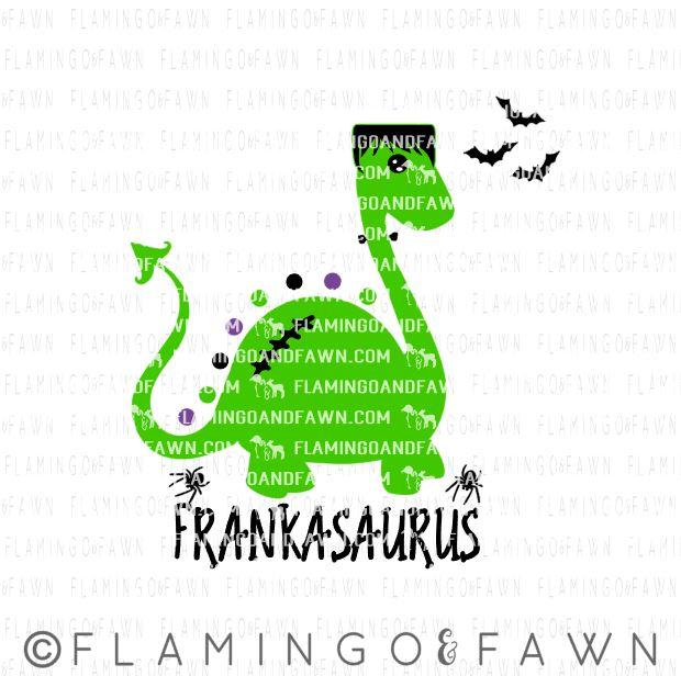 halloween dinosaur svg