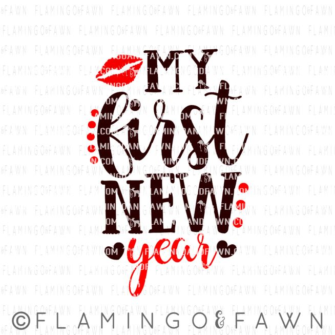 my first new year svg