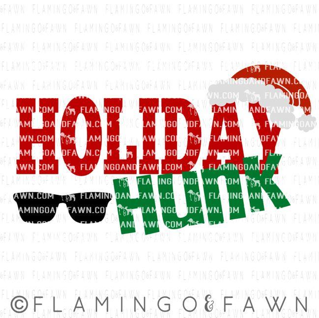 holiday hunk svg