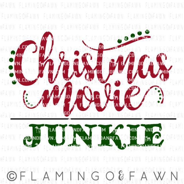 christmas movie svg