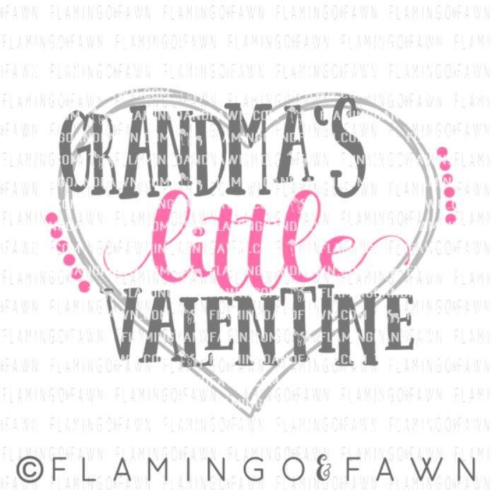 grandmas valentine svg