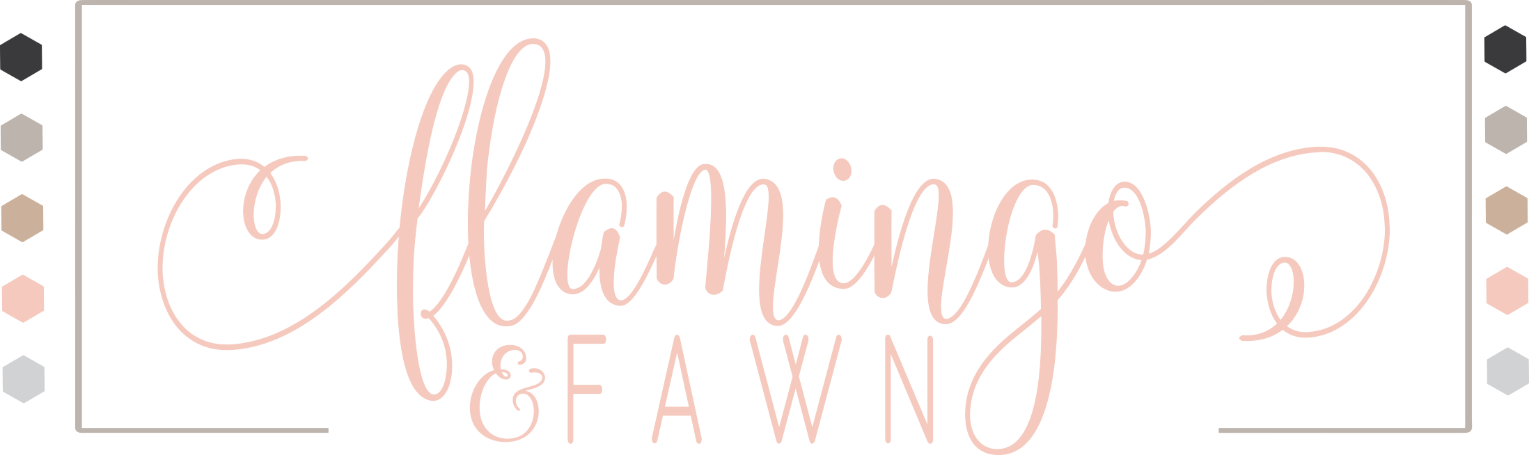 Flamingo and Fawn