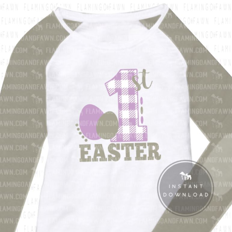 1st easter svg
