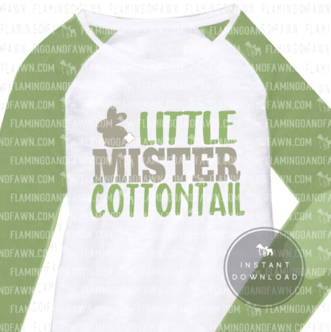 little mister cottontail svg