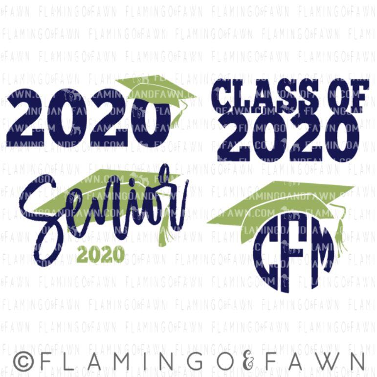 graduation svg files 2020