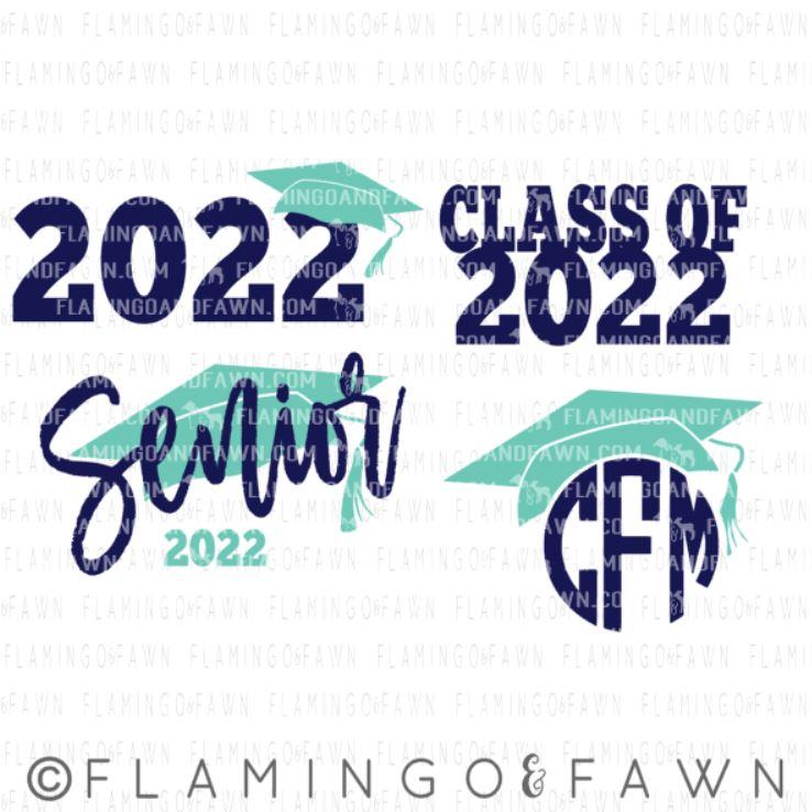 class of 2022 svg