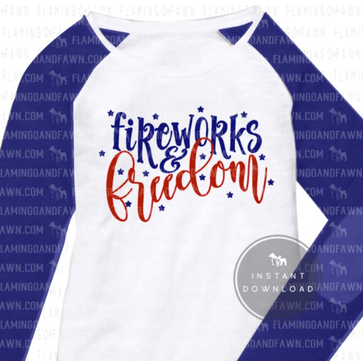 womens 4th of july svg